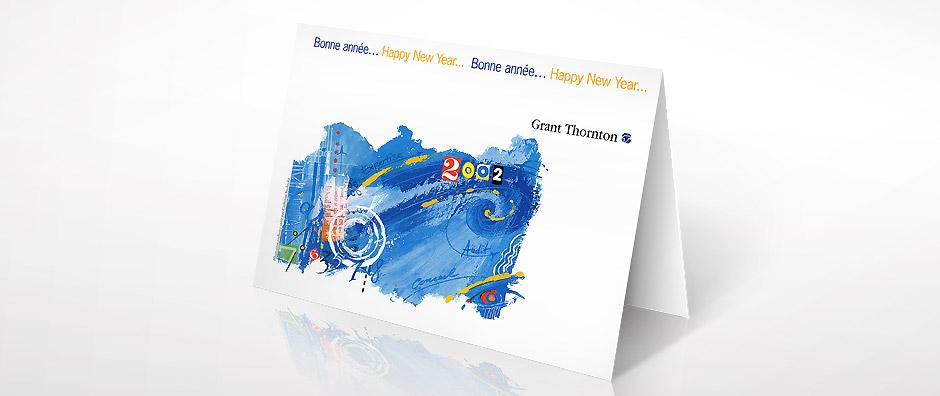 carte de voeux GRANT THORNTON