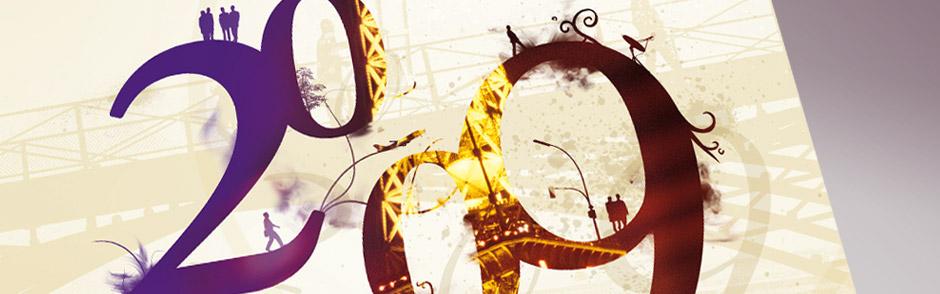 ARD PARIS;Support papier;Réalisation de la carte de vœux pour l'Agence Régionale de Développement de Paris - Montage photographique et typographique;http://www.cartevoeuxentreprise.com/creation-cartes-voeux-papier-entreprise/#Agence Régionale de Développement Île de France Montage photographique et typographique
